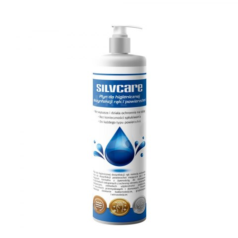 SILVCARE + E 1 L – hand and surface disinfectant