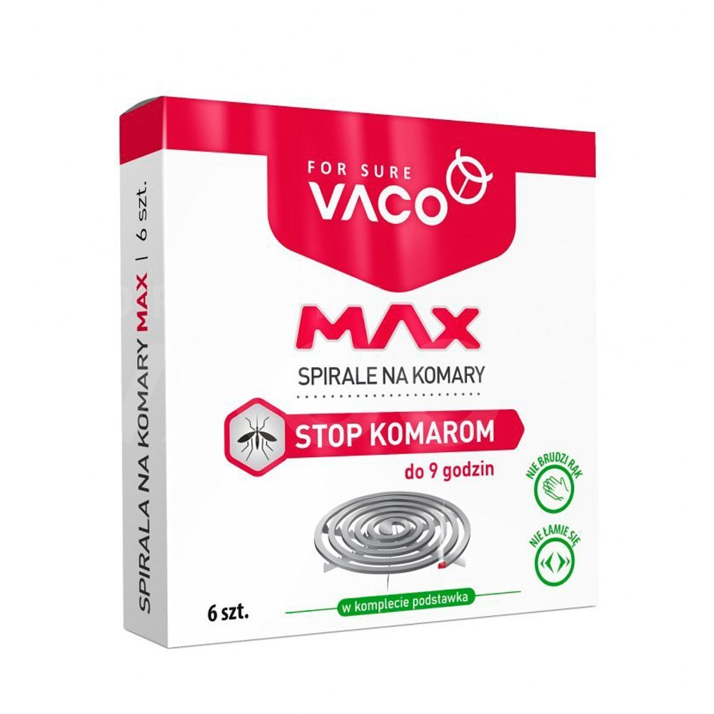 VACO Spiral against mosquitos - 6x