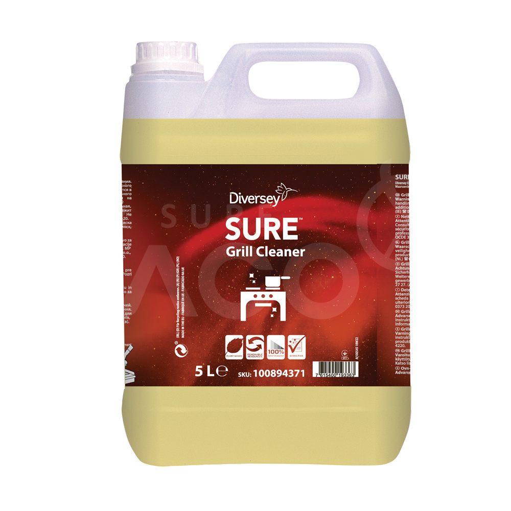 SURE Grill Cleaner 2x5L Grill and furnace cleaner