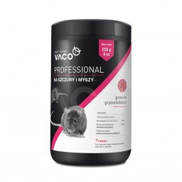VACO PROFESSIONAL Granules for mice and rats (jar) 1 kg